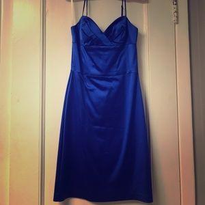 OC by Oleg Cassini Blue Cocktail Dress